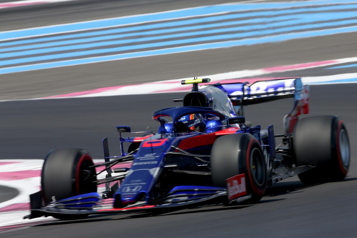 F1 トロロッソ・ホンダ フランスGP 予選