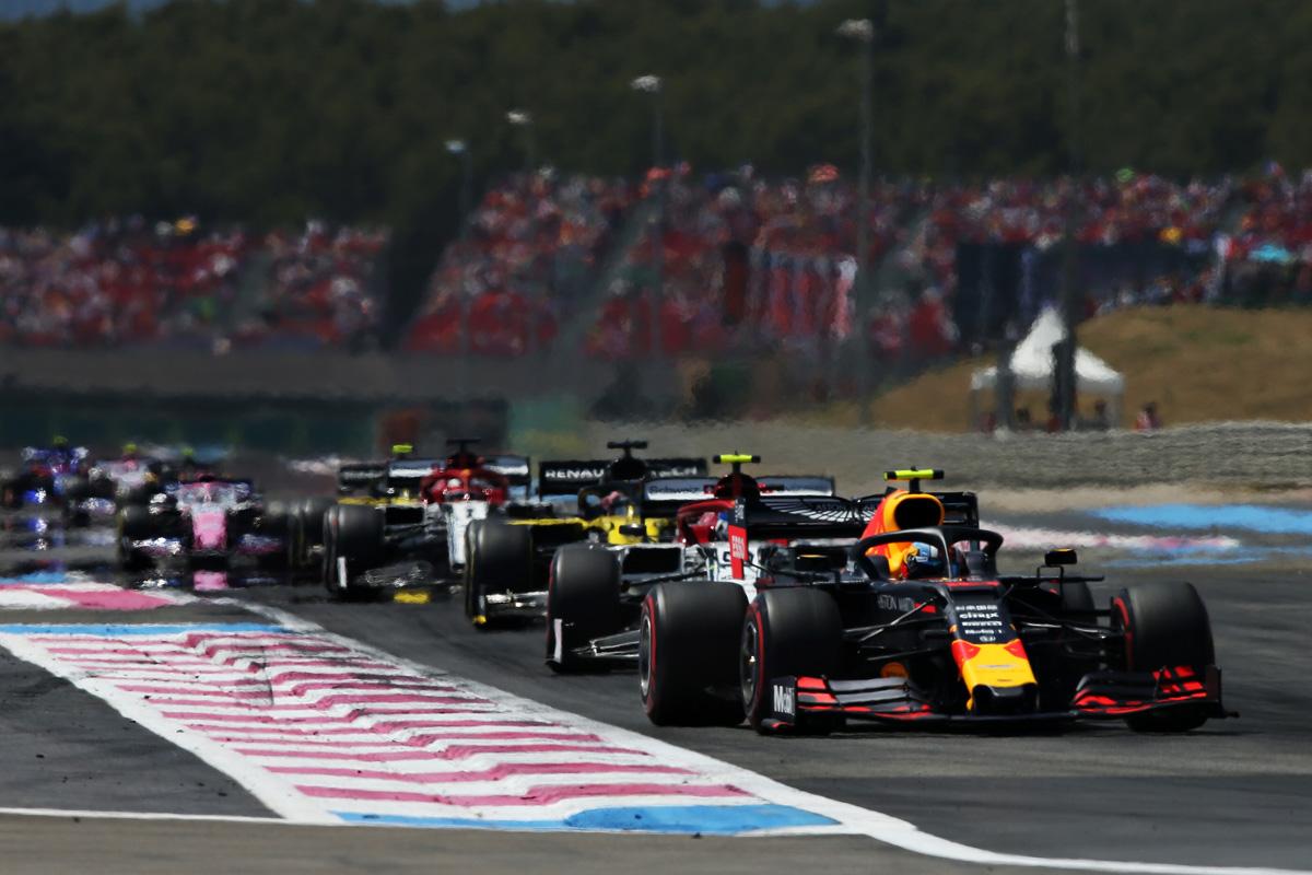 F1 フランスGP 動画