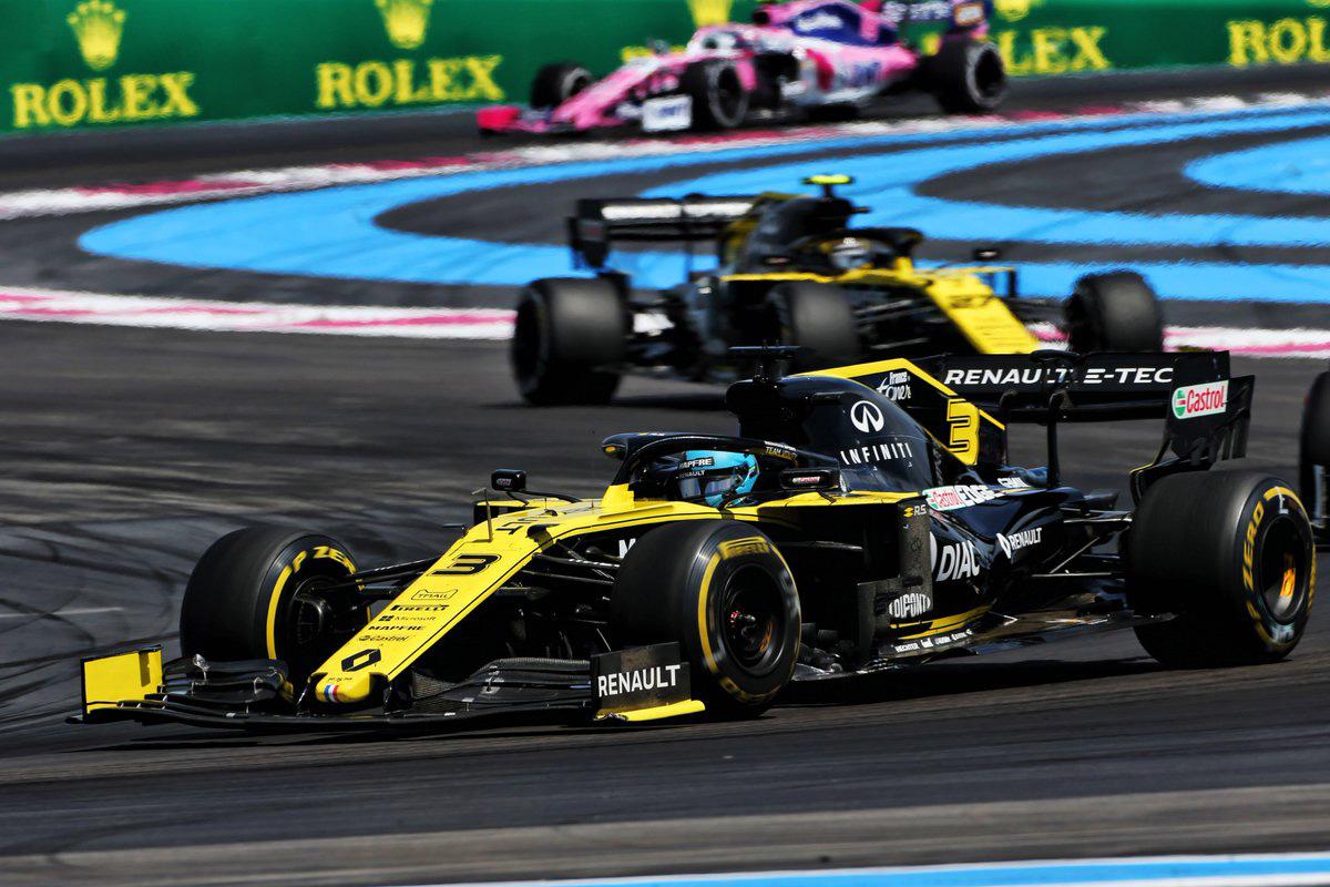 F1フランスGP 最終結果