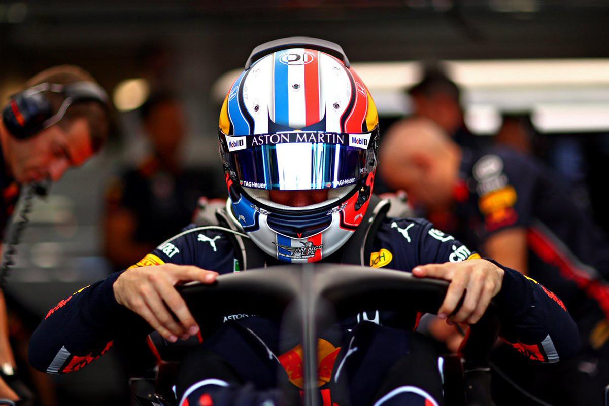 F1 レッドブル ピエール・ガスリー