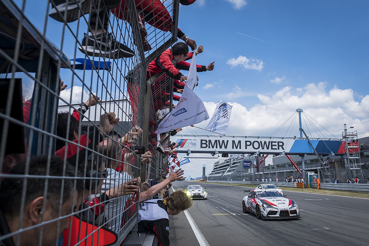 トヨタ ニュルブルクリンク24時間耐久レース