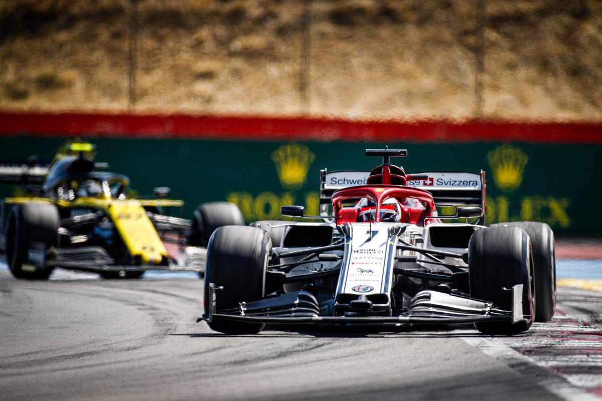 F1 アルファロメオ・レーシング フランスGP