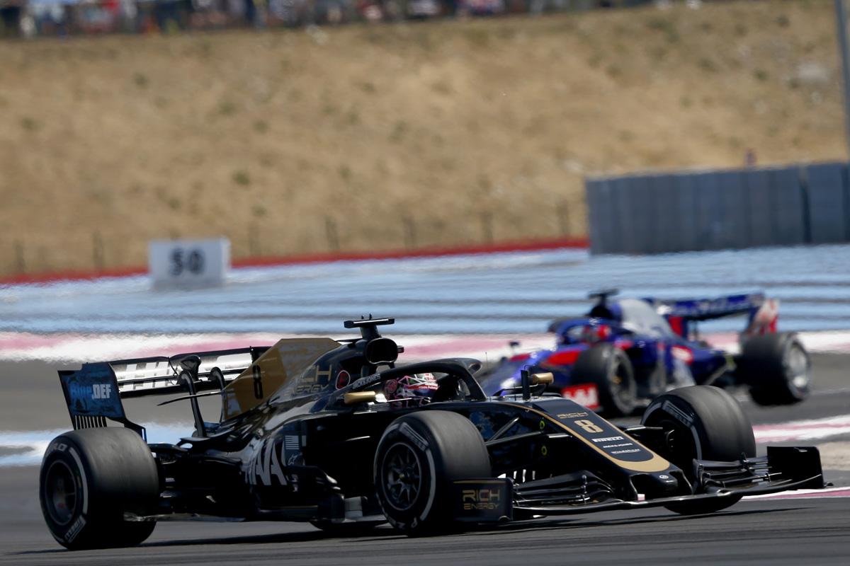 F1 ハースF1チーム フランスGP