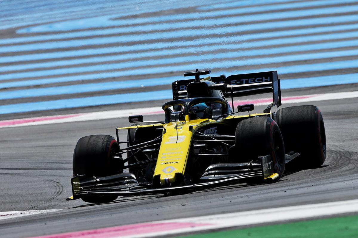 F1 ルノーF1チーム フランスGP