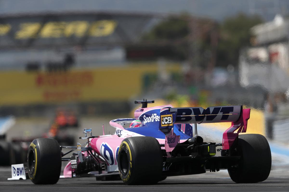 F1 セルジオ・ペレス フランスGP