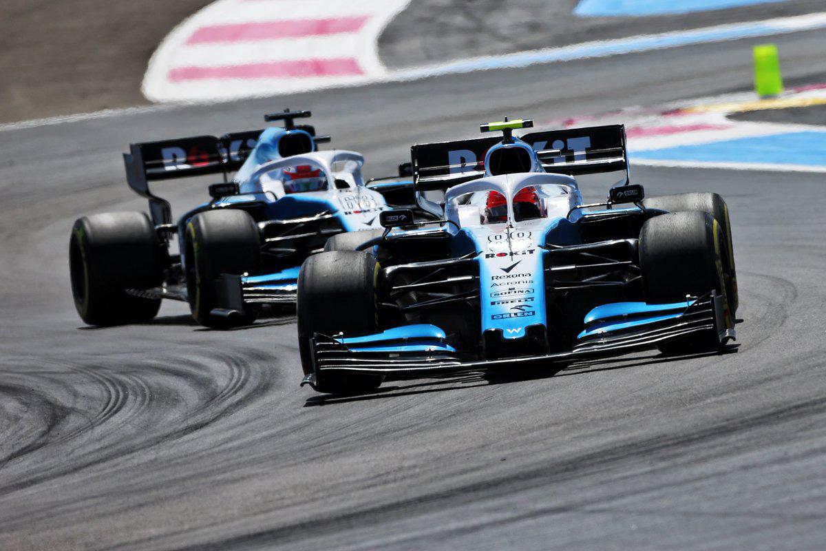 F1 ウィリアムズ フランスGP