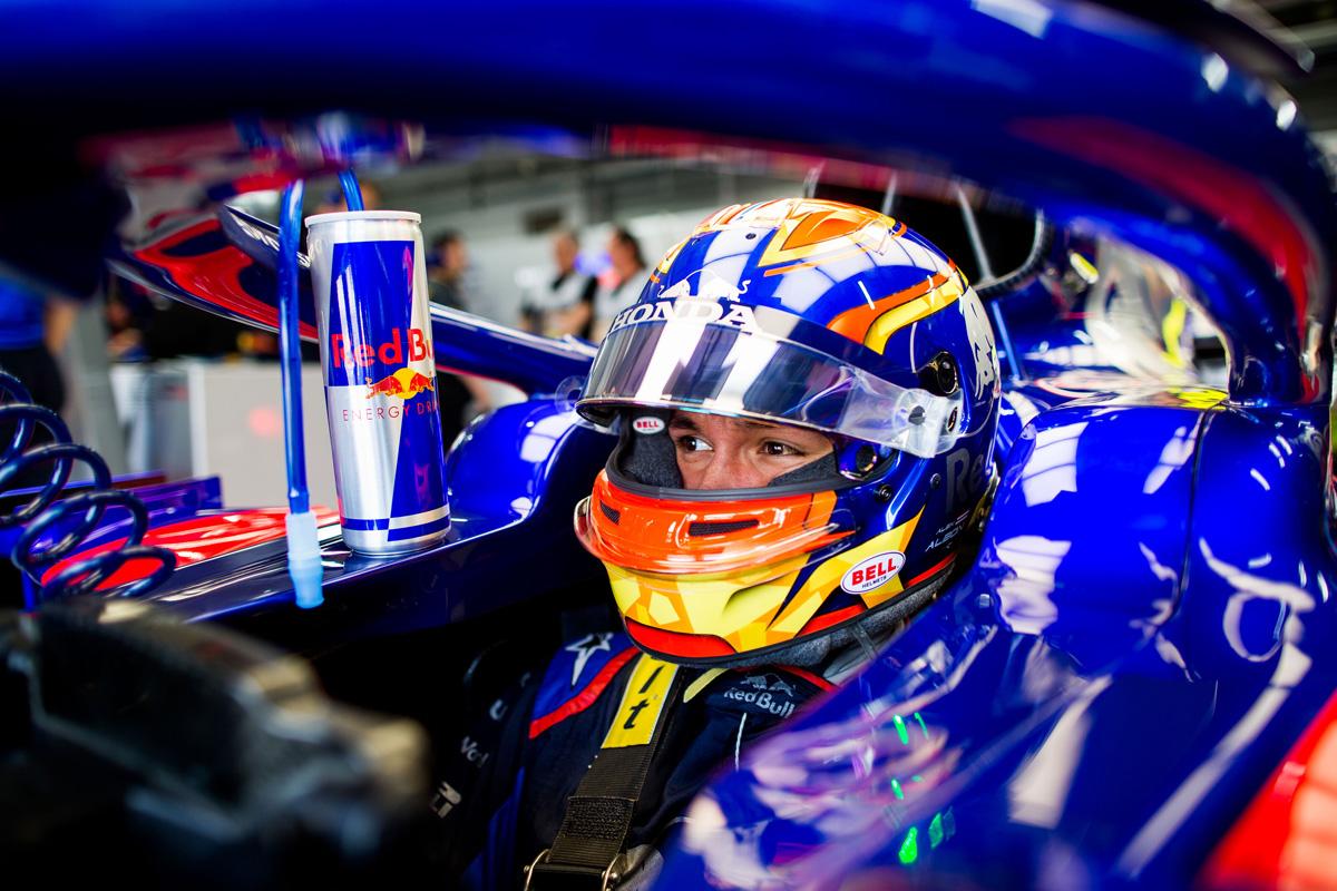 F1 ホンダF1 アレクサンダー・アルボン