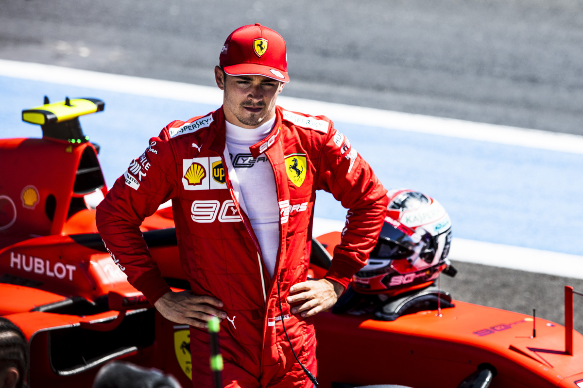 F1 シャルル・ルクレール フェラーリ