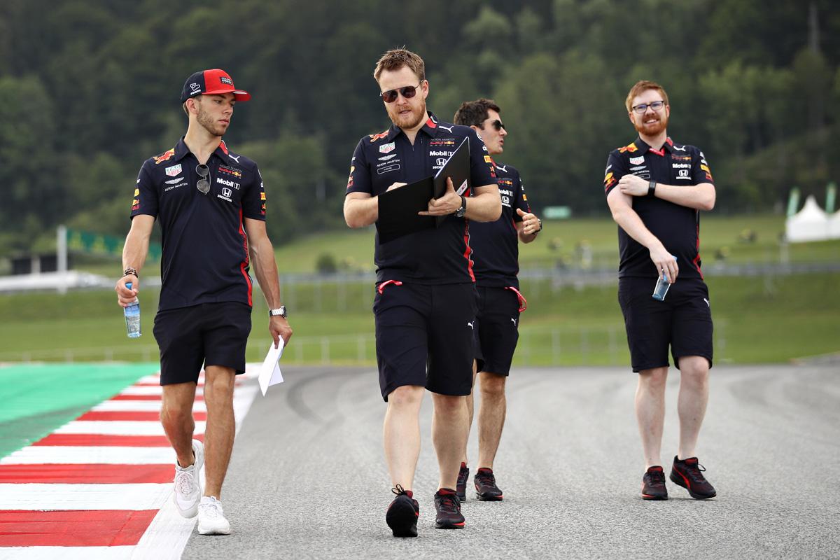 F1 ピエール・ガスリー レッドブル・ホンダ