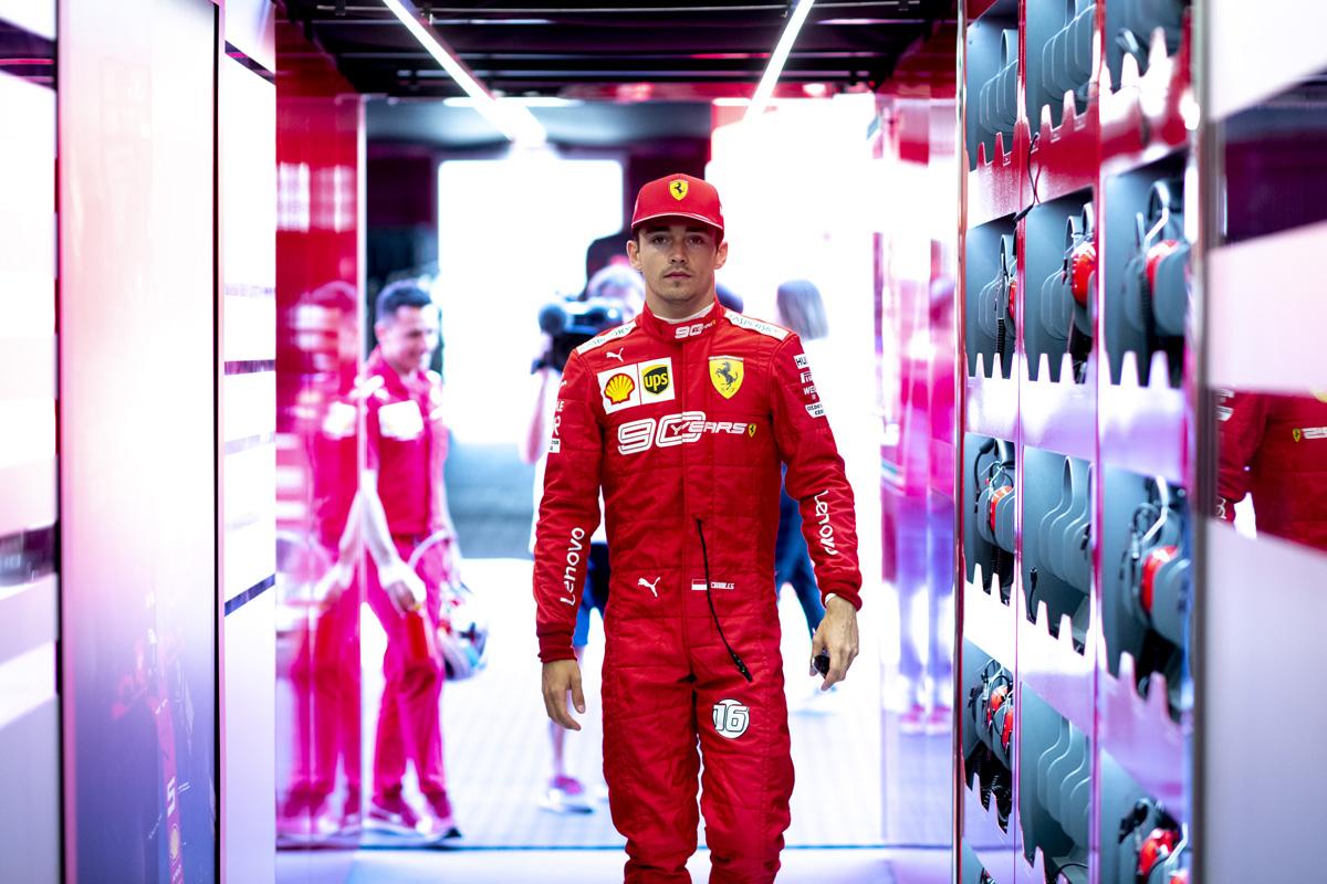 F1 シャルル・ルクレール オーストリアGP