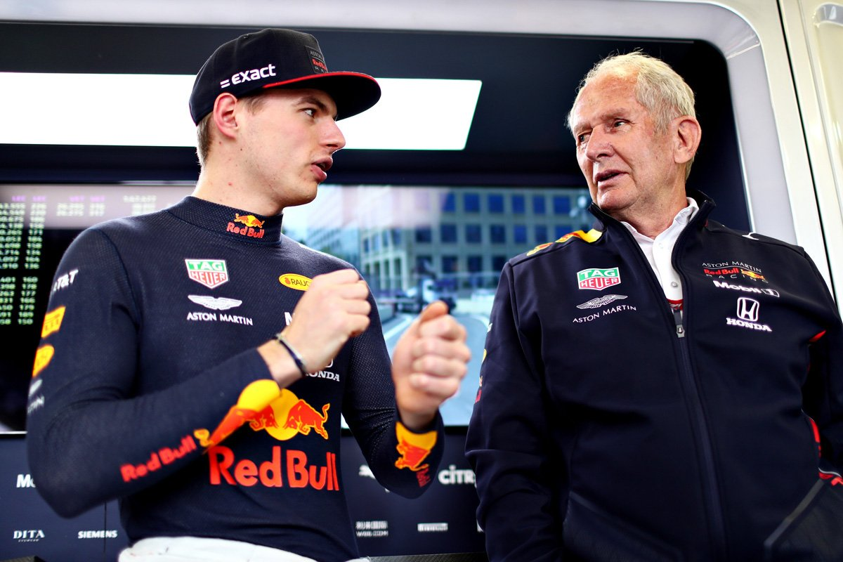 F1 ヘルムート・マルコ マックス・フェルスタッペン