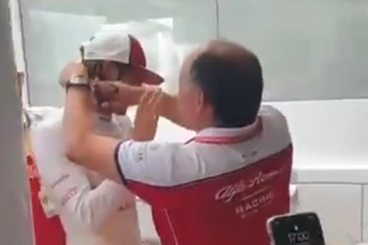 F1 アントニオ・ジョビナッツイ