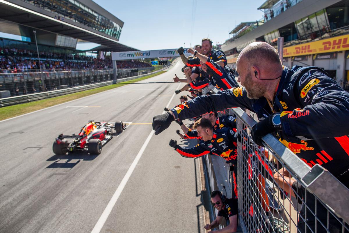 2019年 F1オーストリアGP 決勝 動画