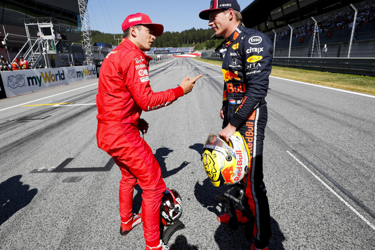 F1 マックス・フェルスタッペン シャルル・ルクレール