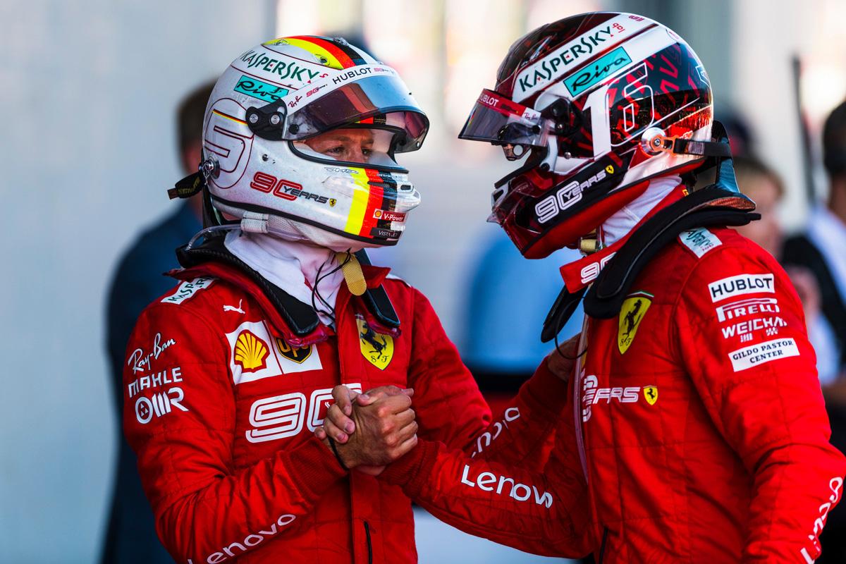 F1 シャルル・ルクレール セバスチャン・ベッテル