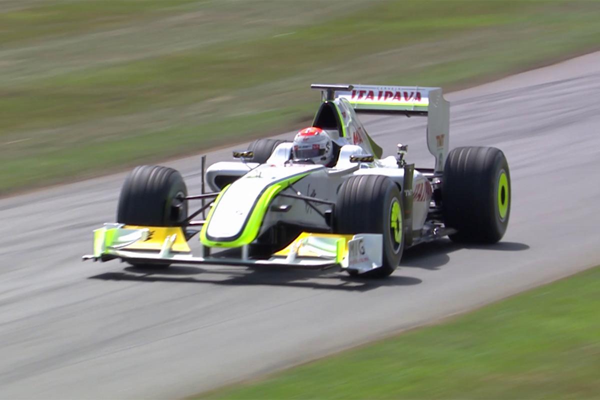 F1 ルーベンス・バリチェロ ブラウンGP