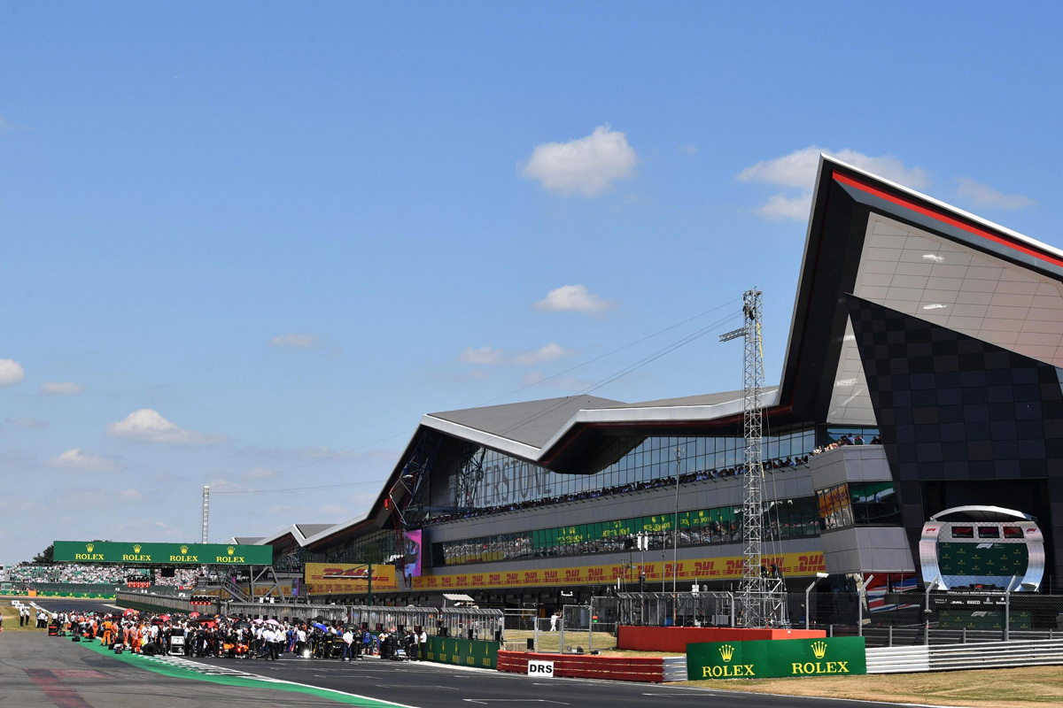 F1イギリスGP | シルバーストンが2024年まで新たに5年契約を締結 【 F1 ...