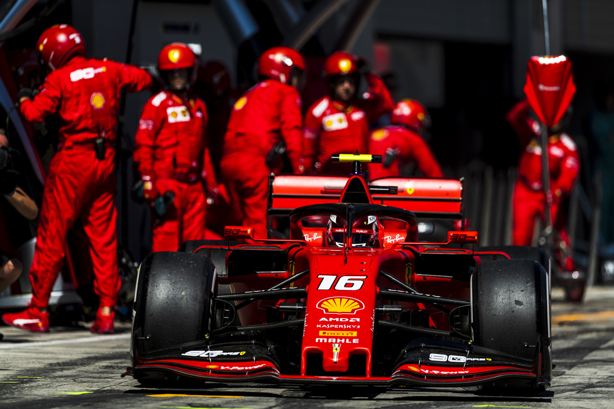 F1 フェラーリ イギリスGP
