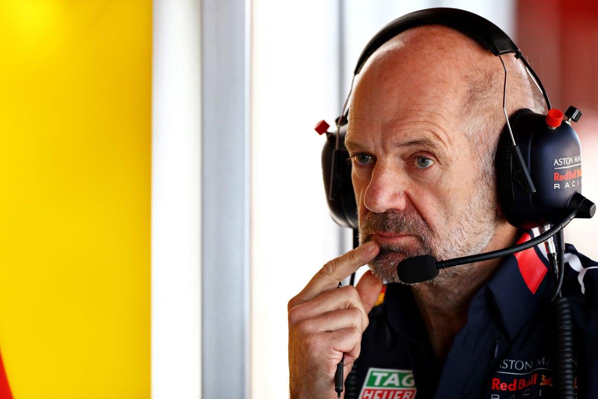 F1 レッドブル エイドリアン・ニューウェイ