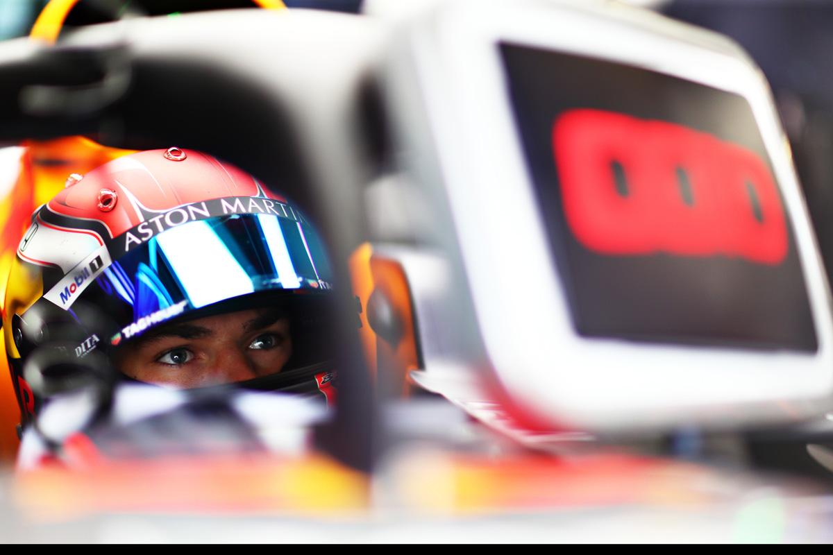 F1 イギリスGP ピエール・ガスリー