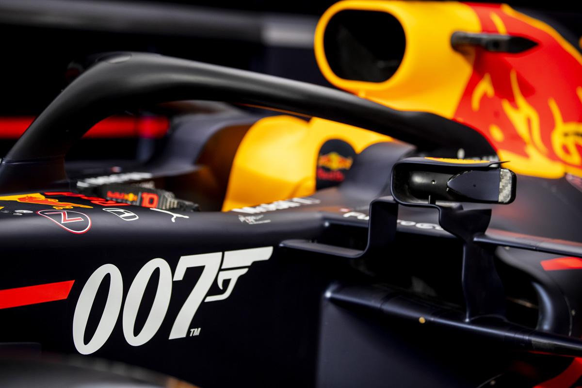 F1 レッドブル・ホンダ RB15 with 007