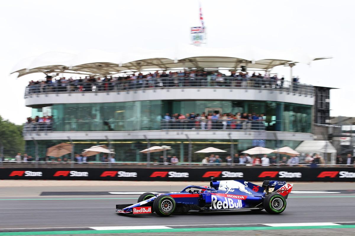 F1イギリスGP 予選Q1 結果