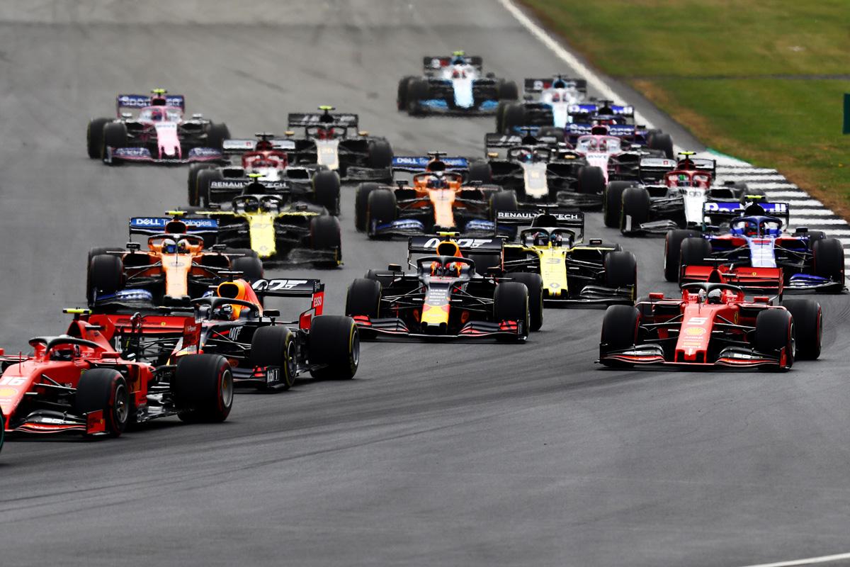 F1 イギリスGP 結果