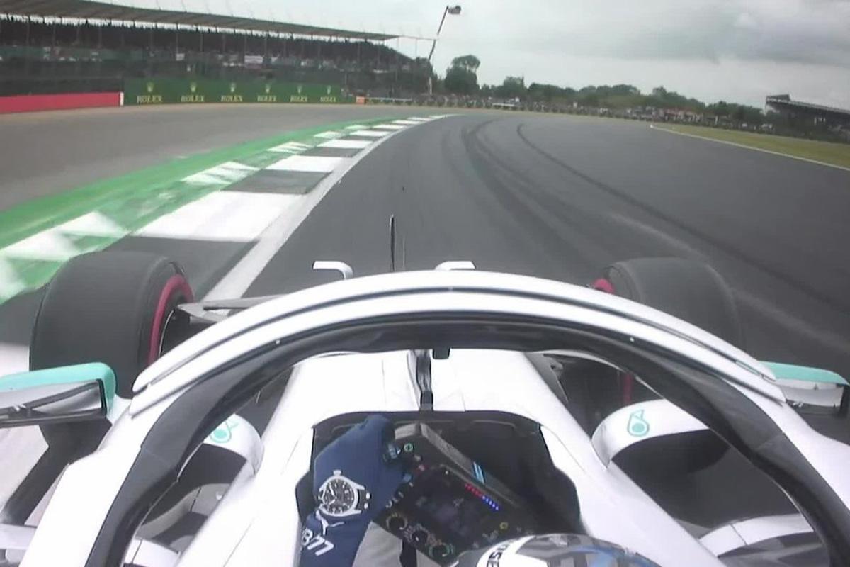 【動画】 バルテリ・ボッタスのポールラップ / F1イギリスGP 予選