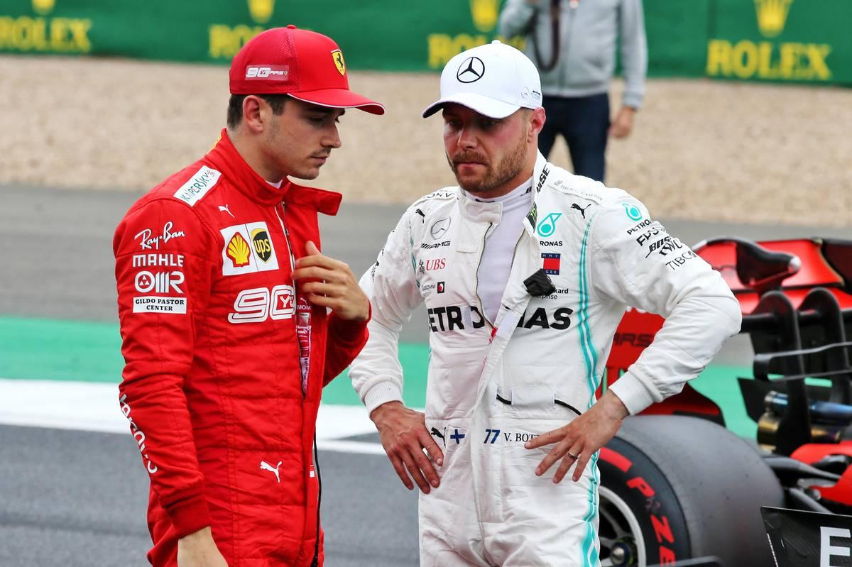2019年 F1イギリスGP 決勝 スターティンググリッド