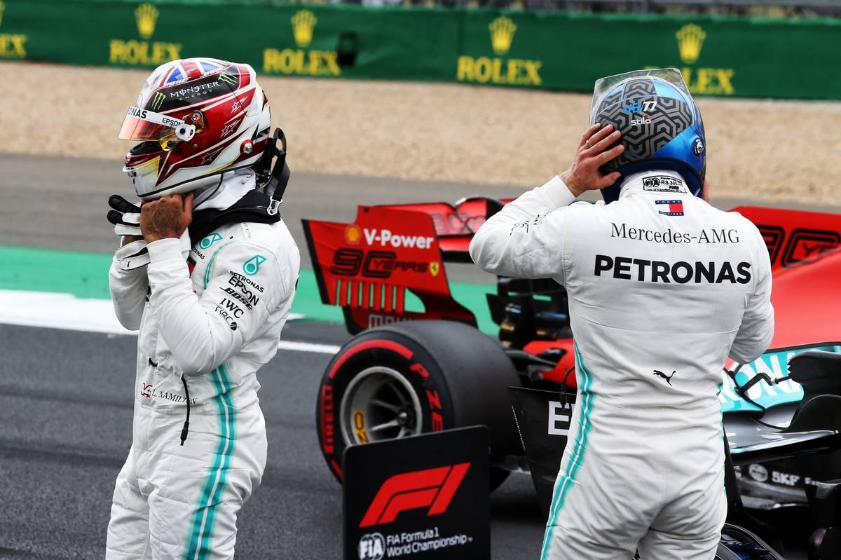 F1イギリスGP 決勝:各ドライバーの持ちタイヤ数&タイヤ戦略予想