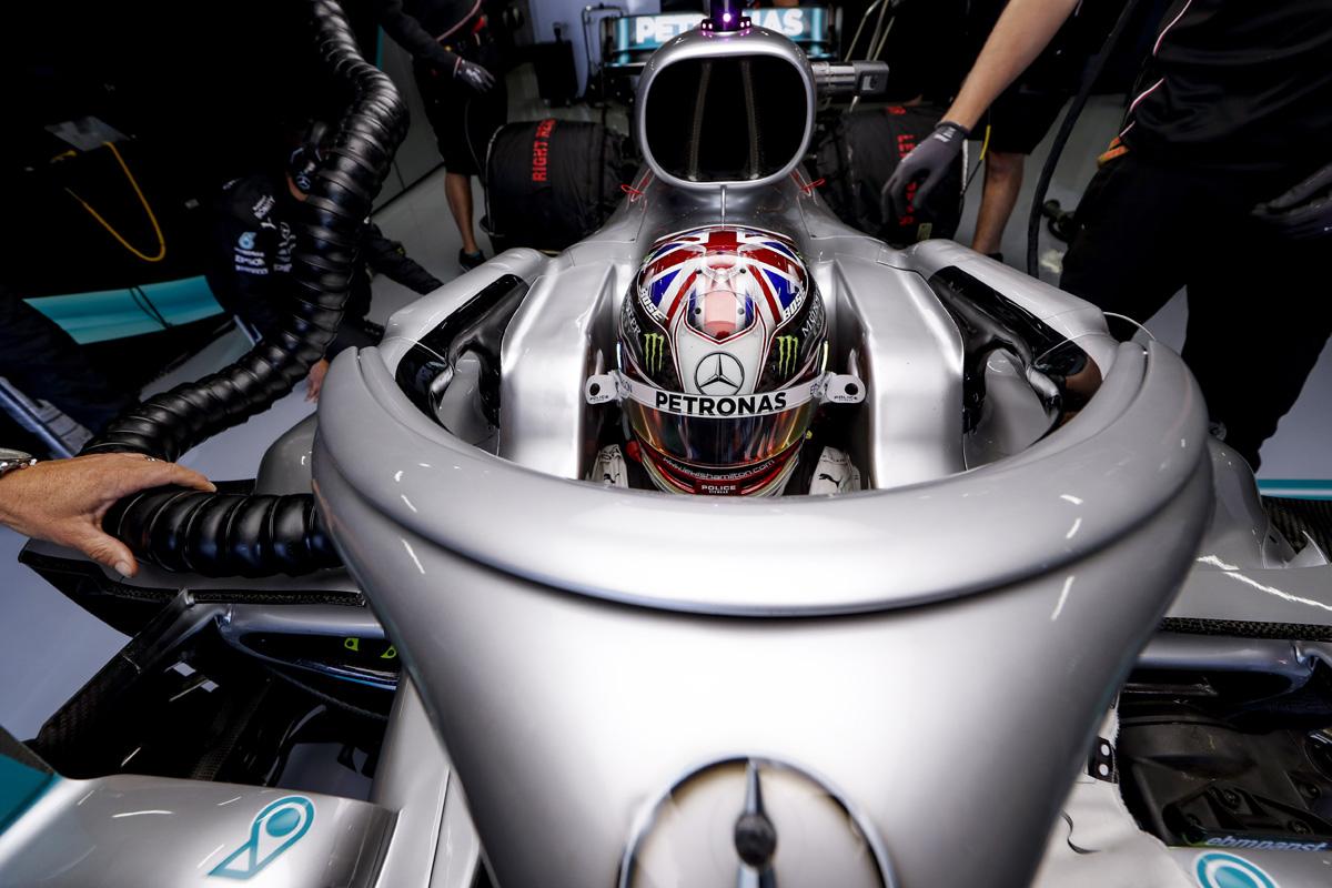 F1 ルイス・ハミルトン イギリスGP