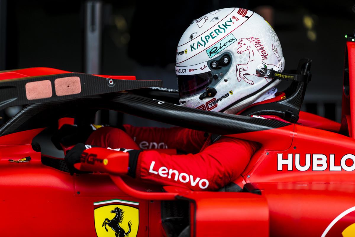 F1 セバスチャン・ベッテル レッドブル・ホンダ