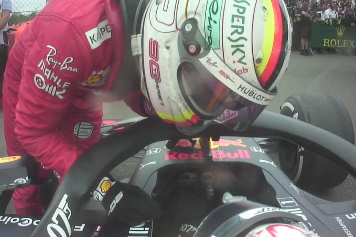 F1 セバスチャン・ベッテル マックス・フェルスタッペン