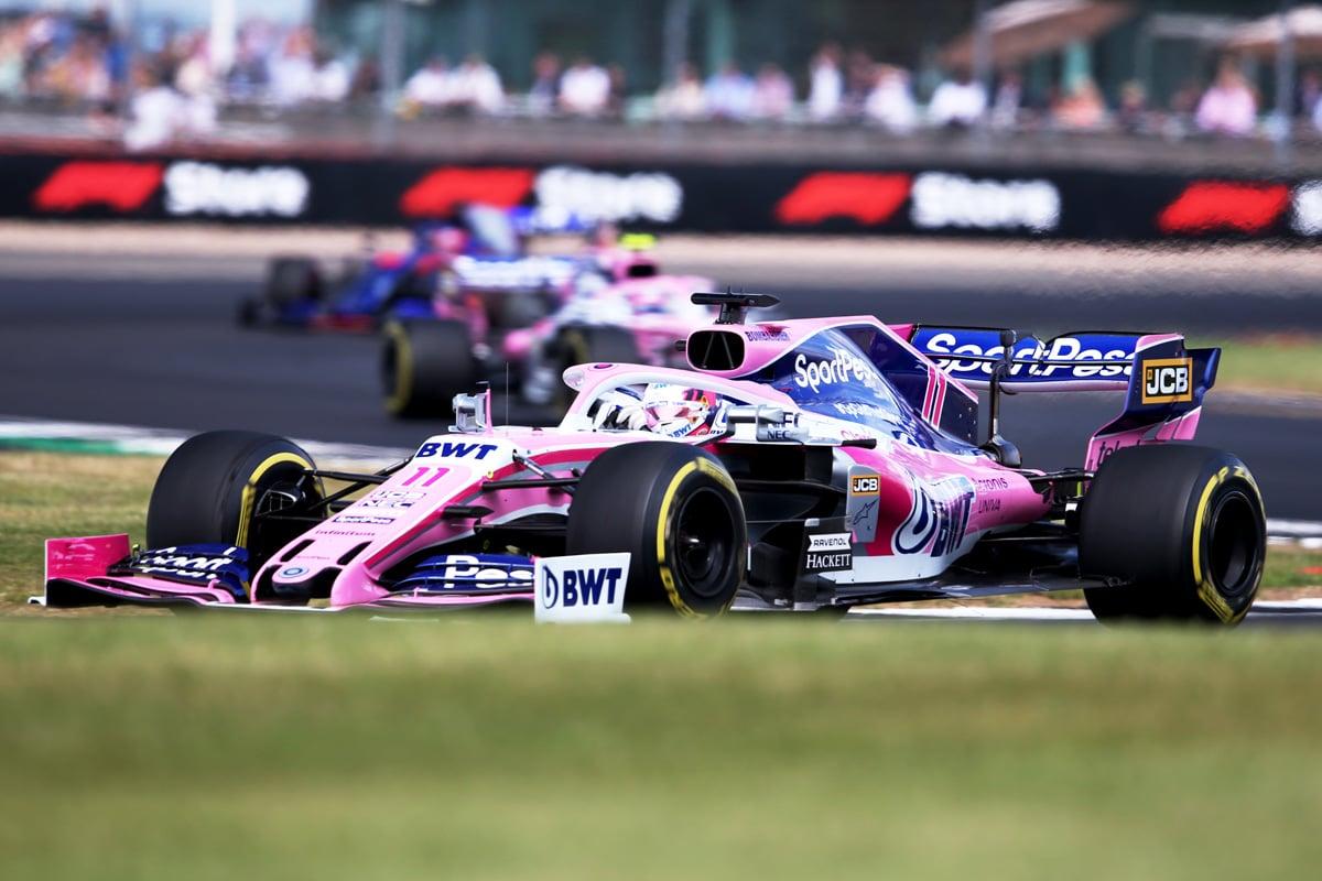 F1 レーシング・ポイントF1チーム イギリスGP