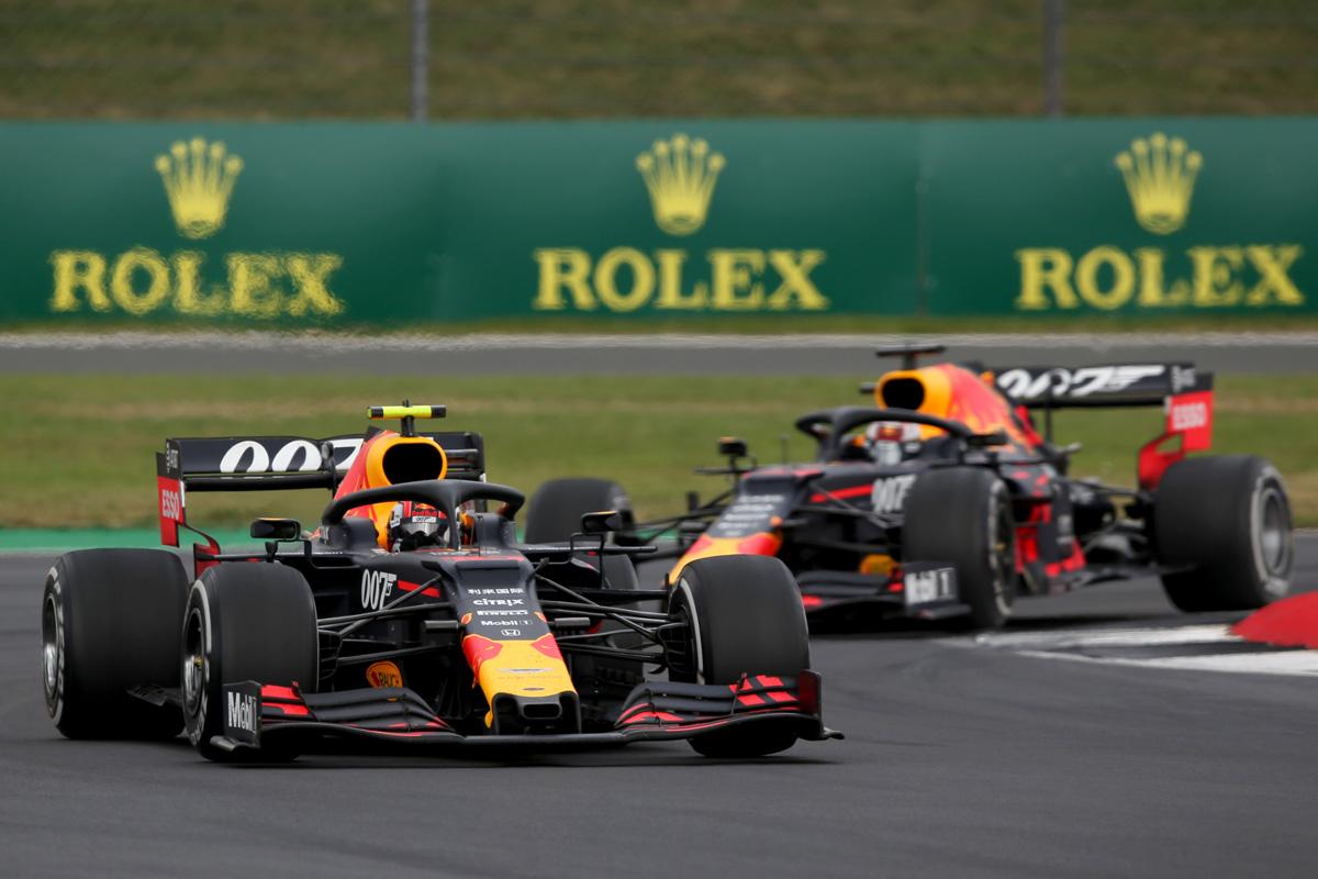 F1 レッドブル・ホンダ イギリスGP