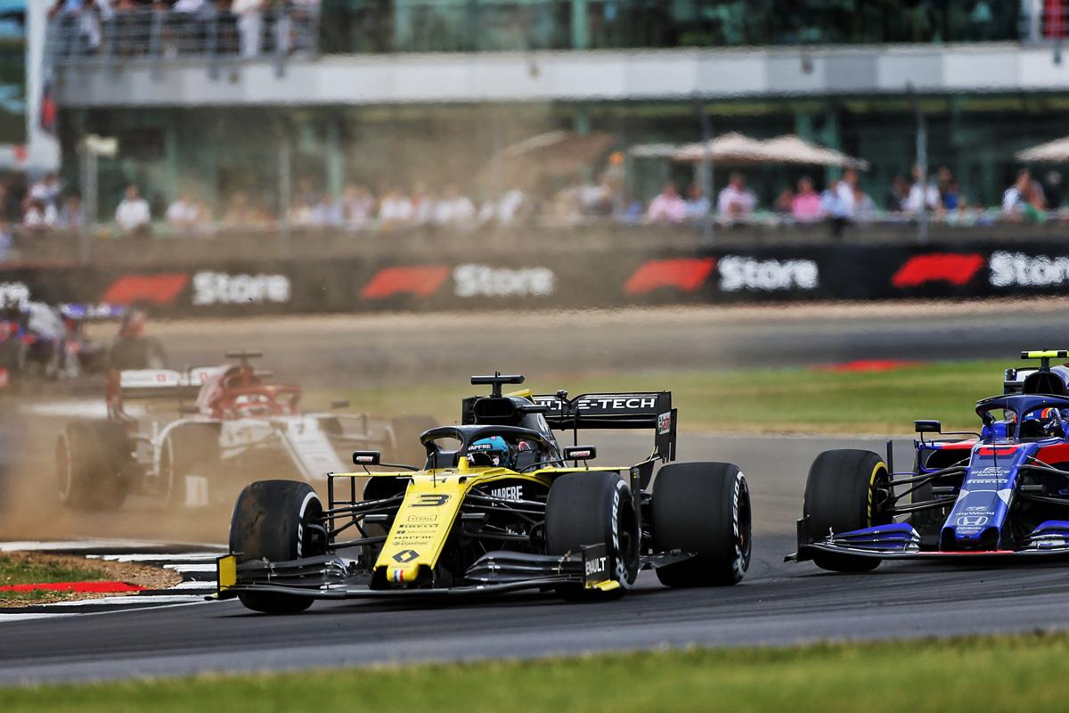 F1 ルノーF1 イギリスGP