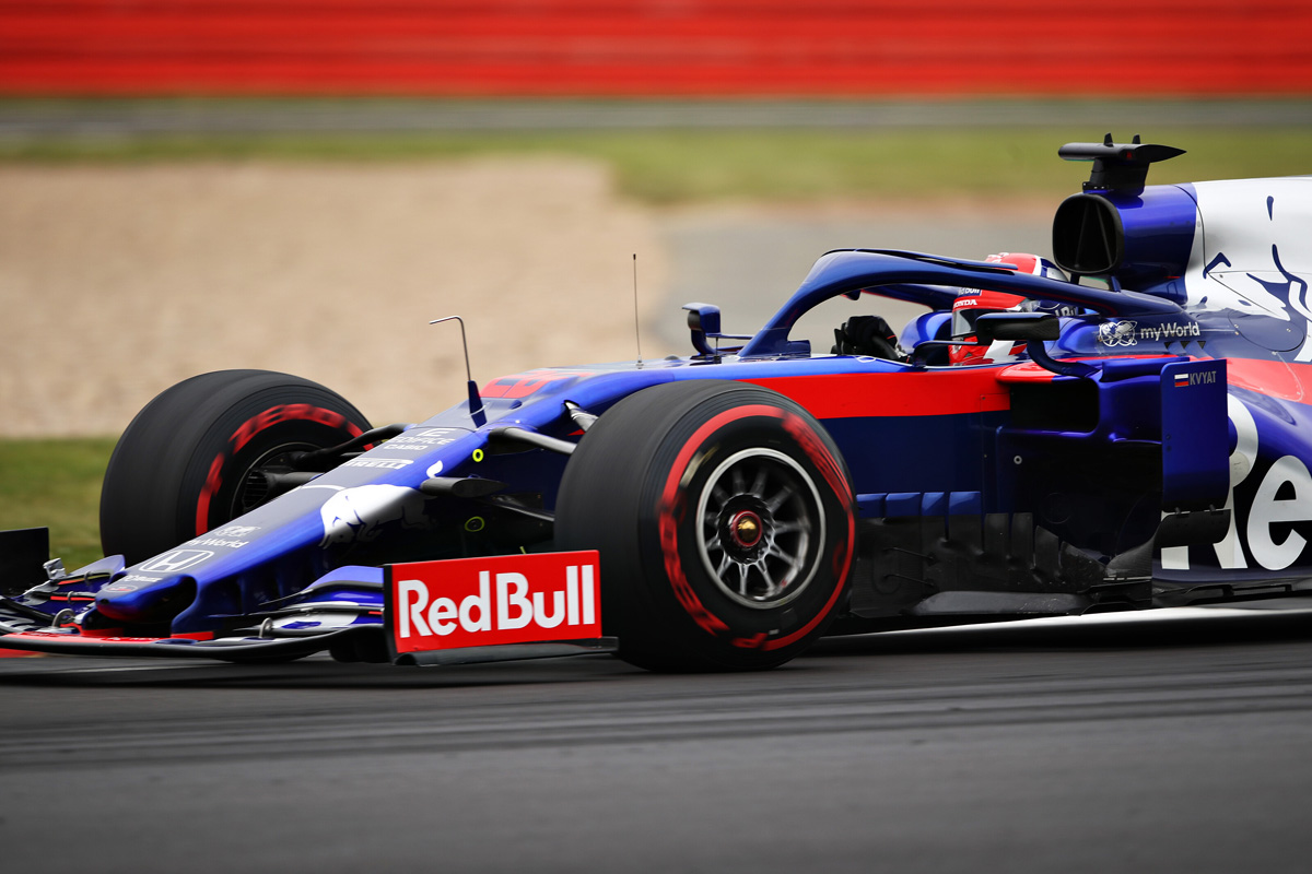F1 トロロッソ・ホンダ イギリスGP