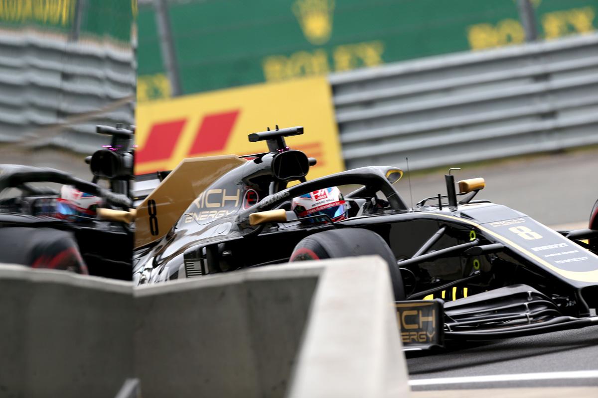F1 ハースF1チーム イギリスGP
