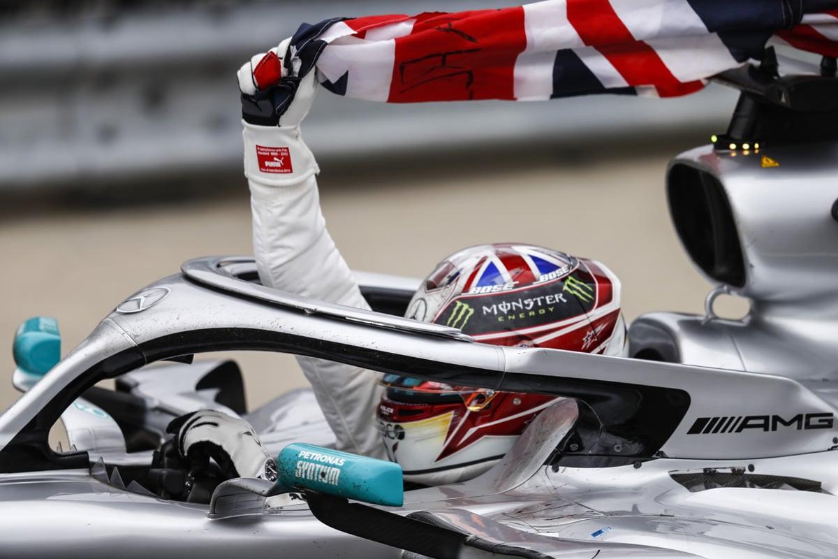 F1 メルセデス ルイス・ハミルトン