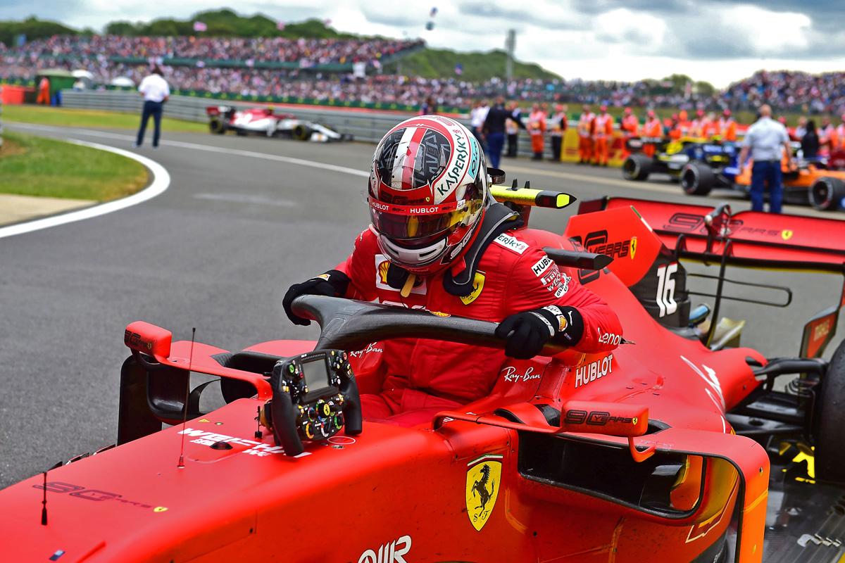 F1 シャルル・ルクレール レッドブル・ホンダ