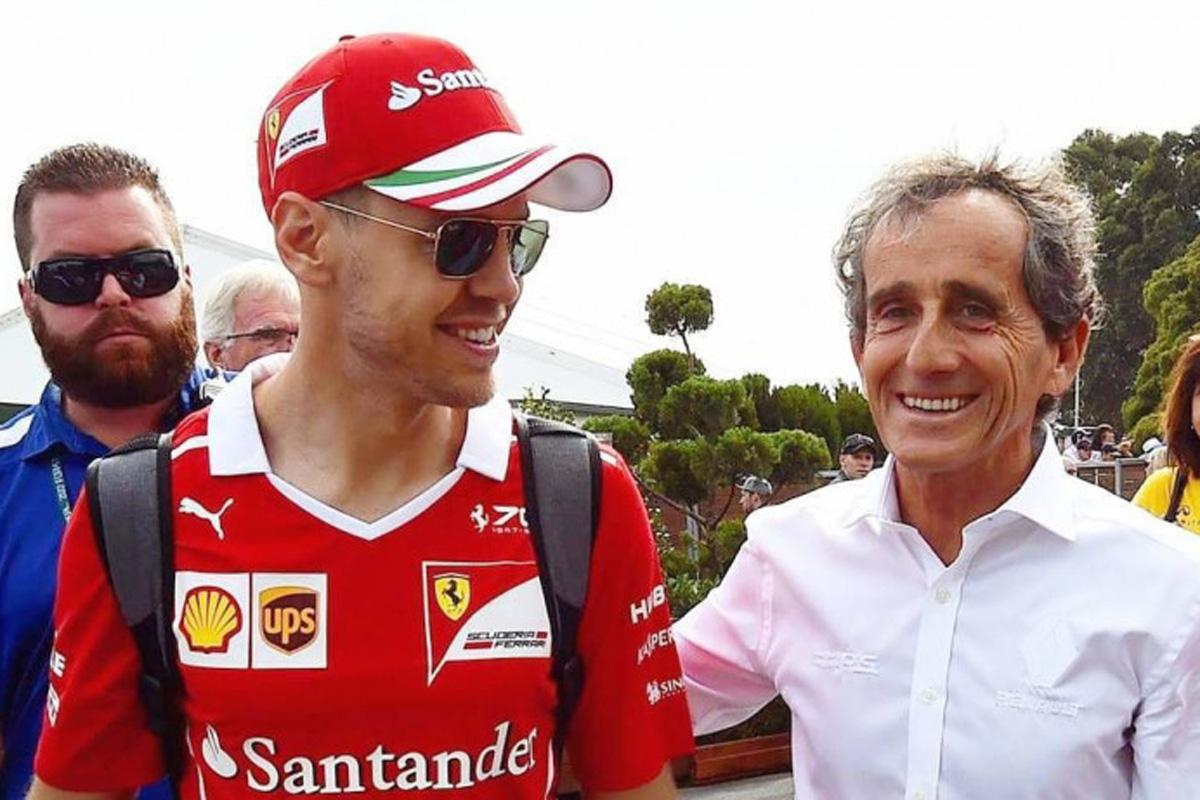 F1 アラン・プロスト セバスチャン・ベッテル