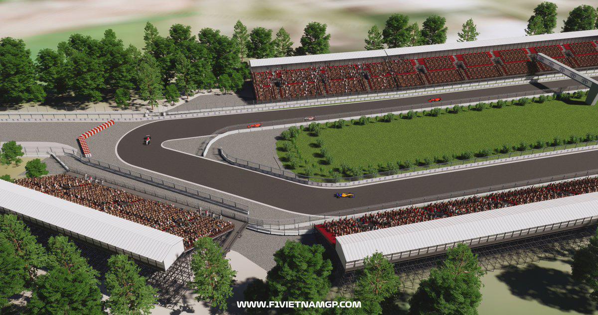 F1 ベトナムGP ハノイ市街地コース- 2