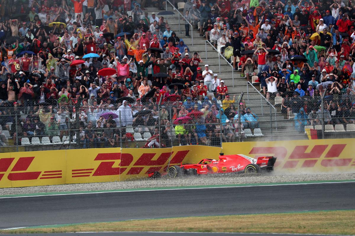 F1 セバスチャン・ベッテル ドイツGP