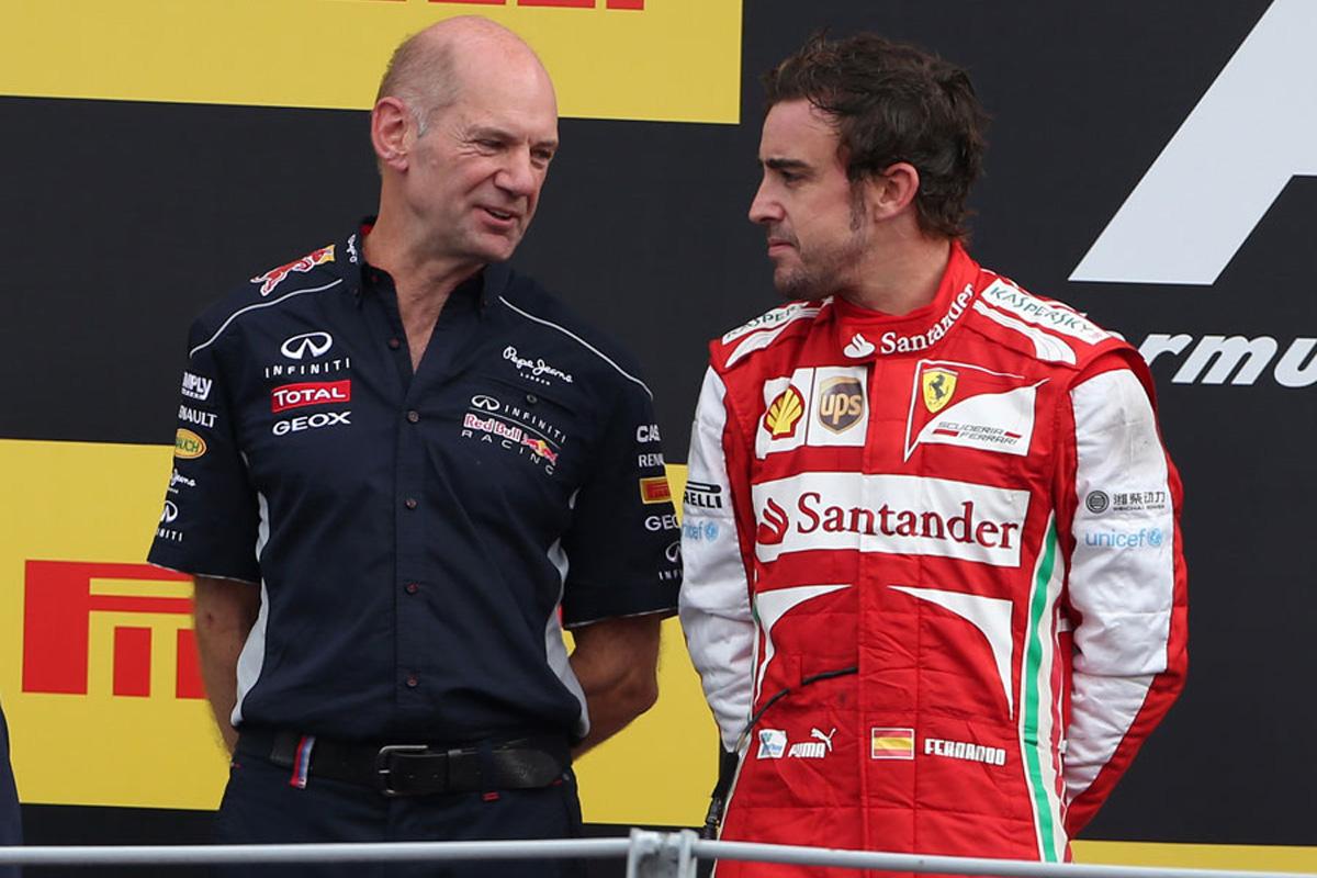 F1 フェルナンド・アロンソ レッドブル