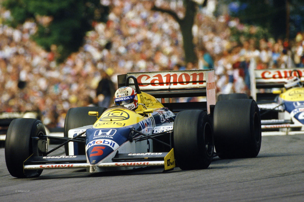 F1 ナイジェル・マンセル