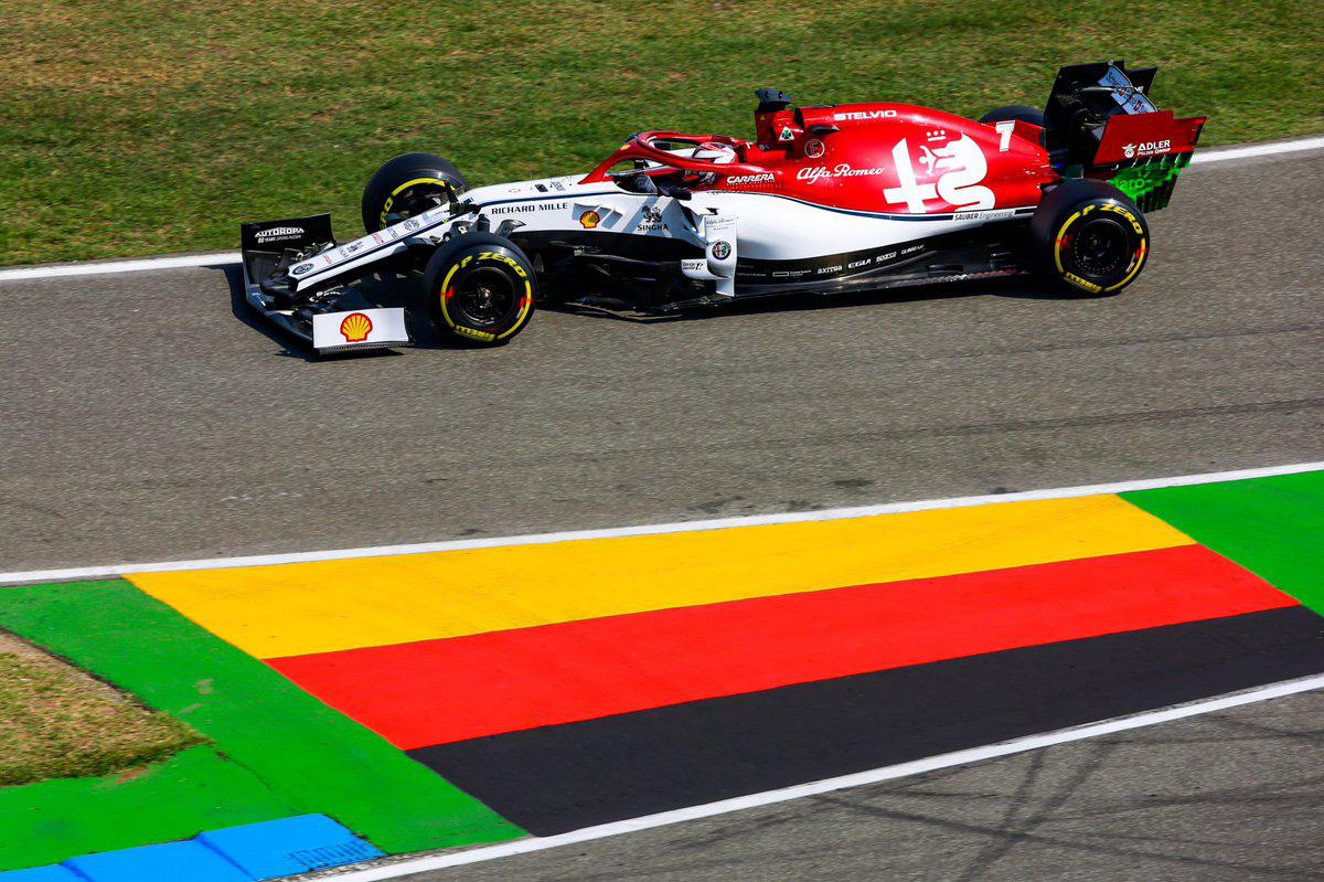 F1 アルファロメオ・レーシング ドイツGP