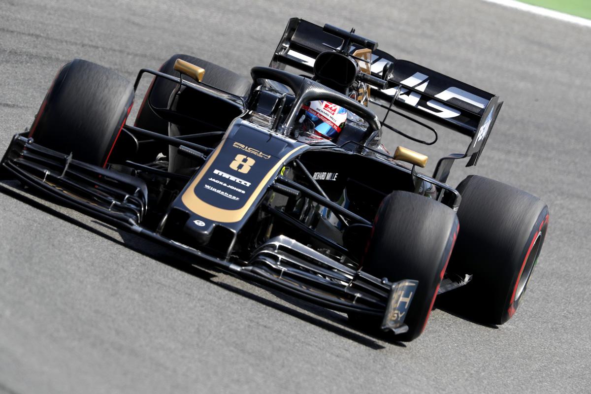 F1 ハースF1チーム ドイツGP