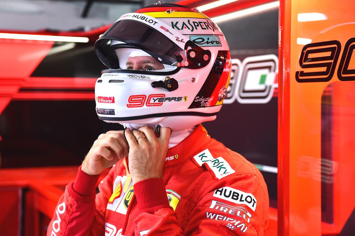 F1 セバスチャン・ベッテル フェラーリ ドイツGP