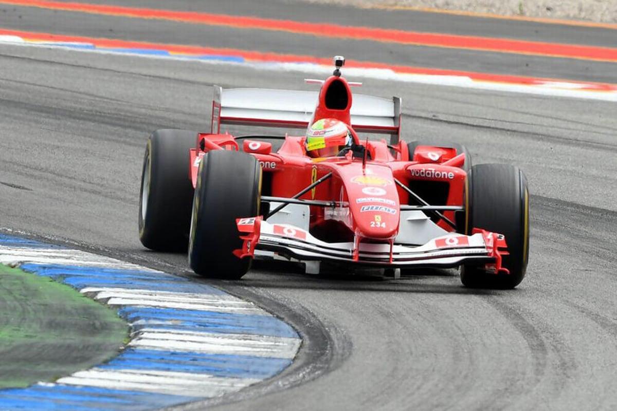 F1 マック・シューマッハ