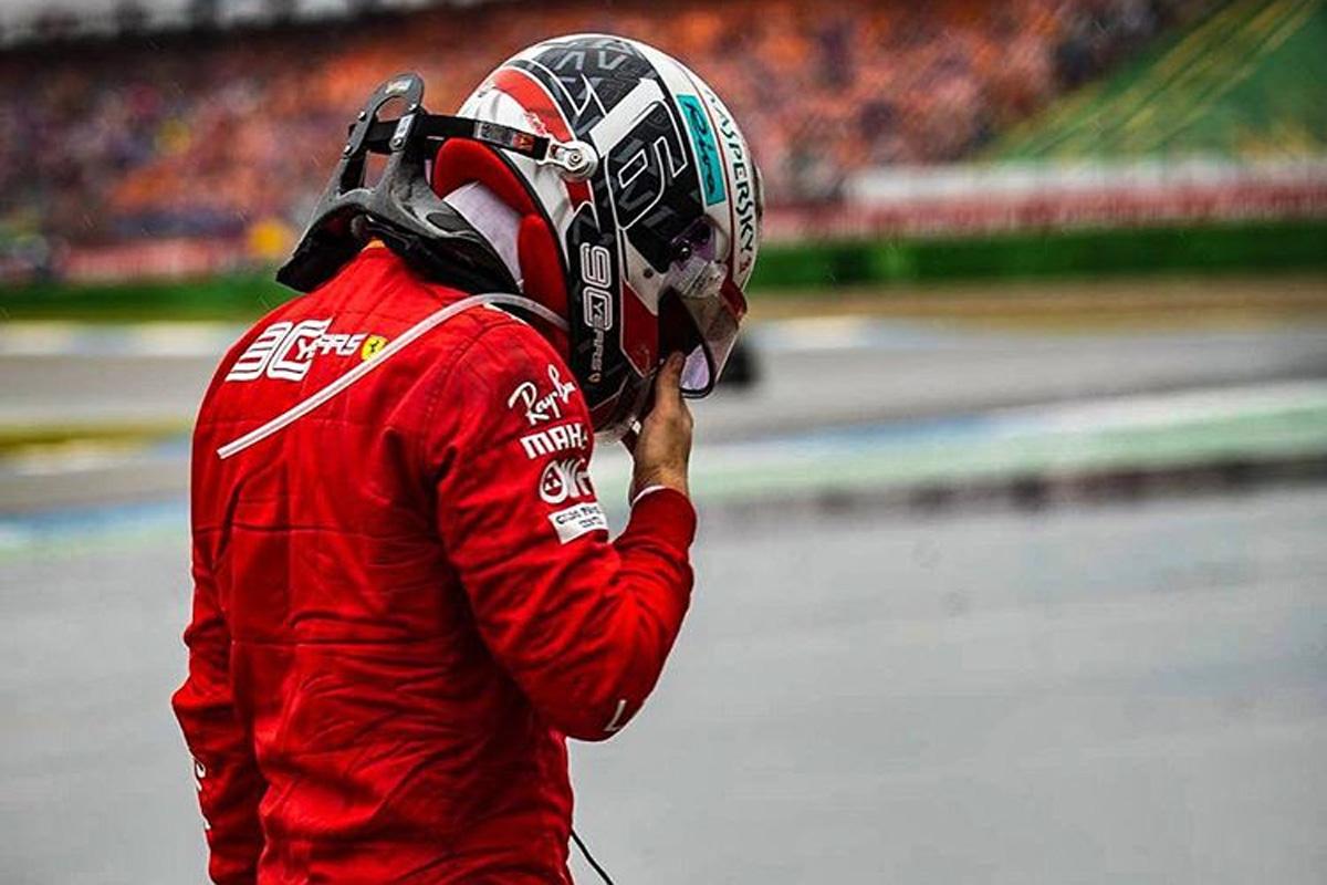 F1 シャルル・ルクレール ドイツGP